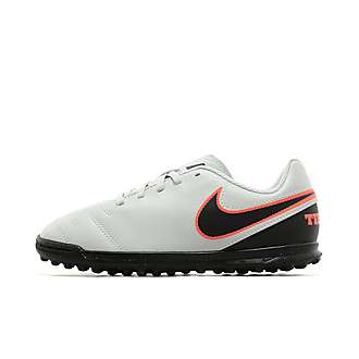 Nike Liquid Chrome Tiempo Rio III TF Children