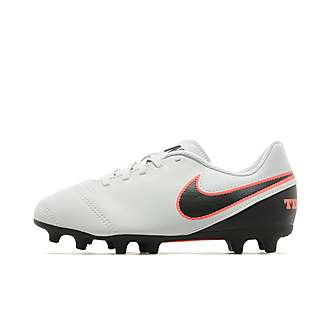 Nike Liquid Chrome Tiempo Rio III FG Children
