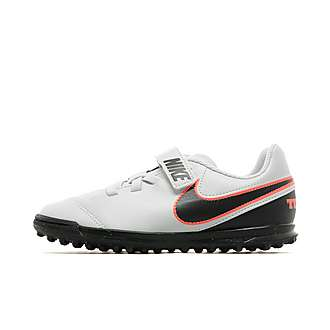 Nike Liquid Chrome Tiempo Rio III Turf Children