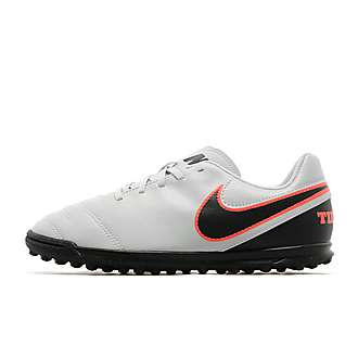 Nike Liquid Chrome Tiempo Rio III TF Junior