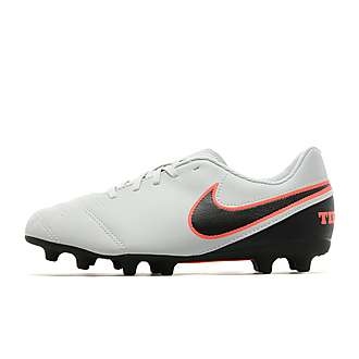 Nike Liquid Chrome Tiempo Rio III FG Junior
