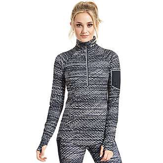 Under Armour Fly-by Print 1/2 Zip Top