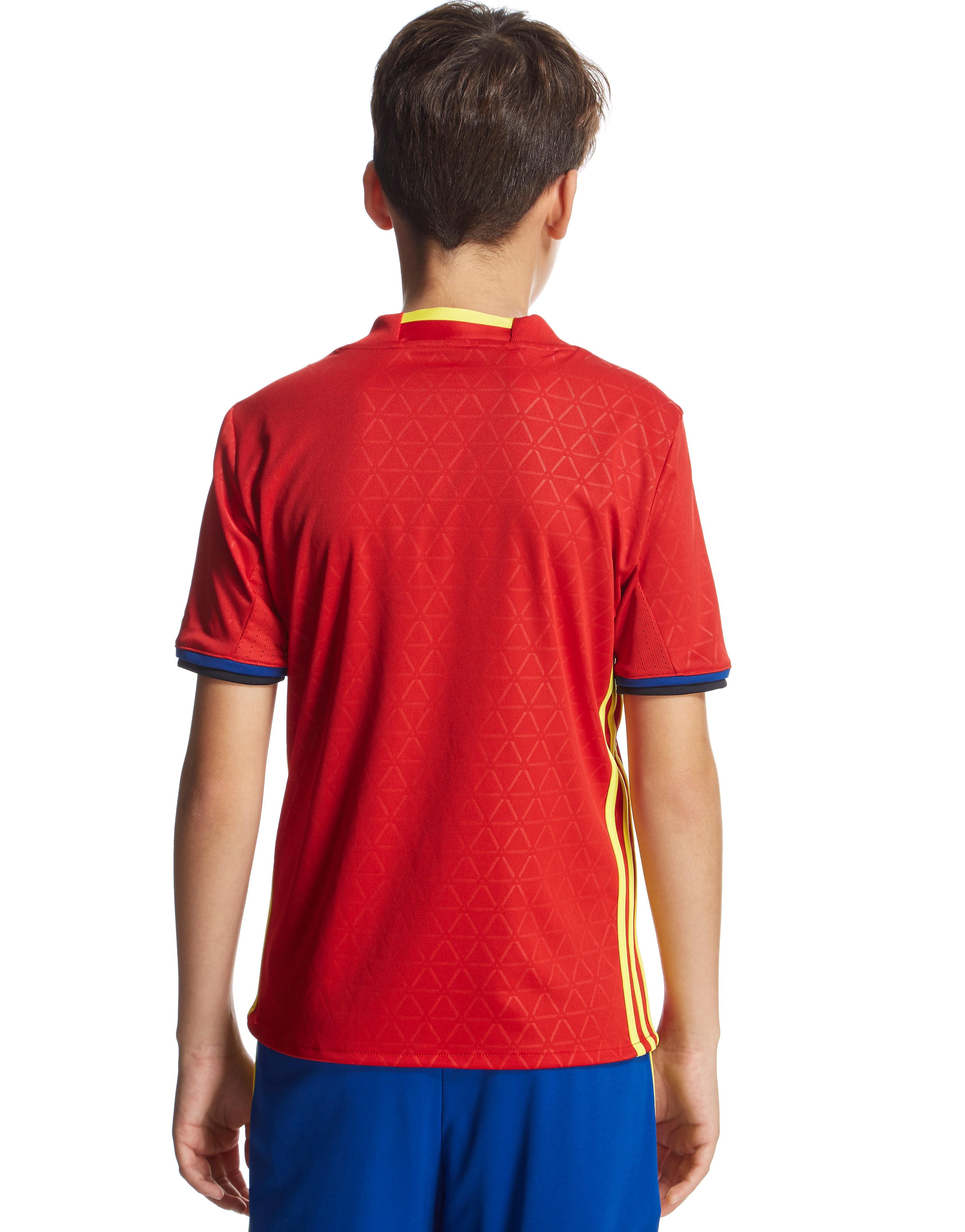 adidas Spain 2016 Home Shirt Junior