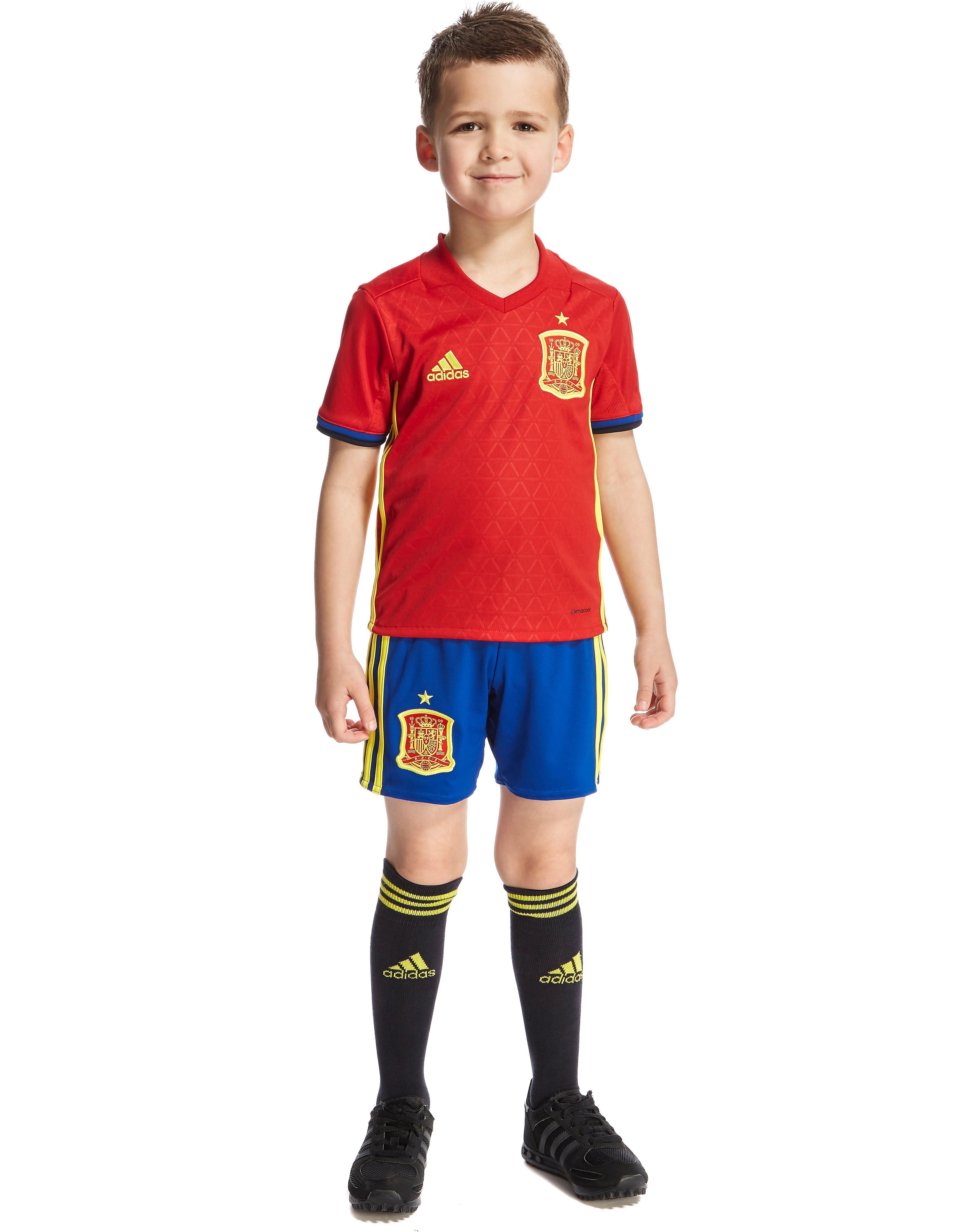 adidas Spain 2016 Home Kit Children