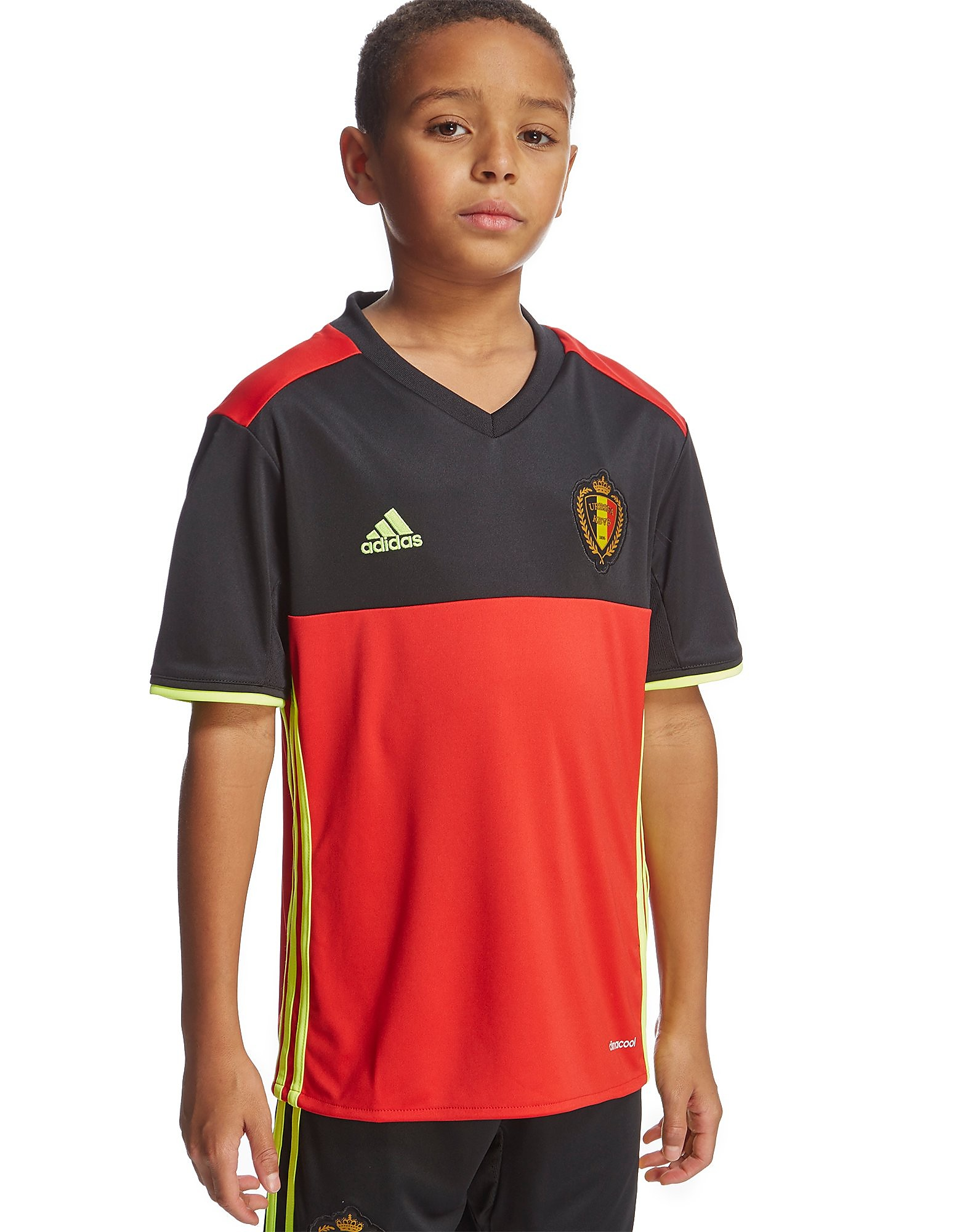 adidas Belgium 2016 Home Shirt Junior