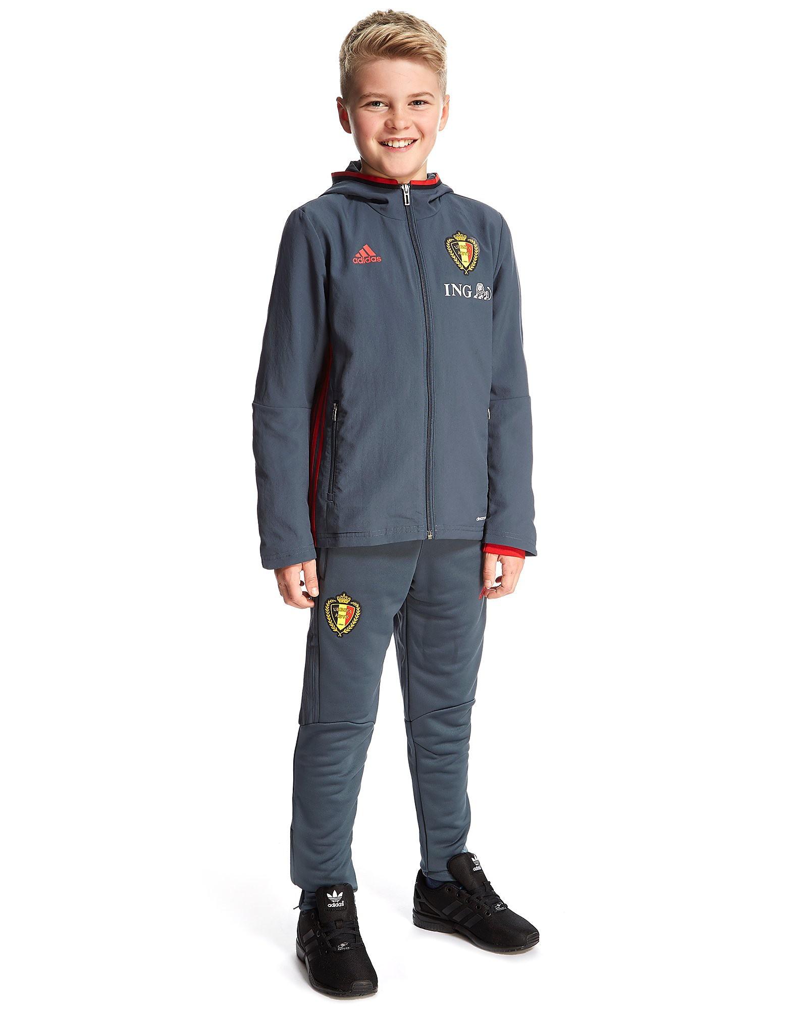 adidas Belgien Præsentations Dragt Junior