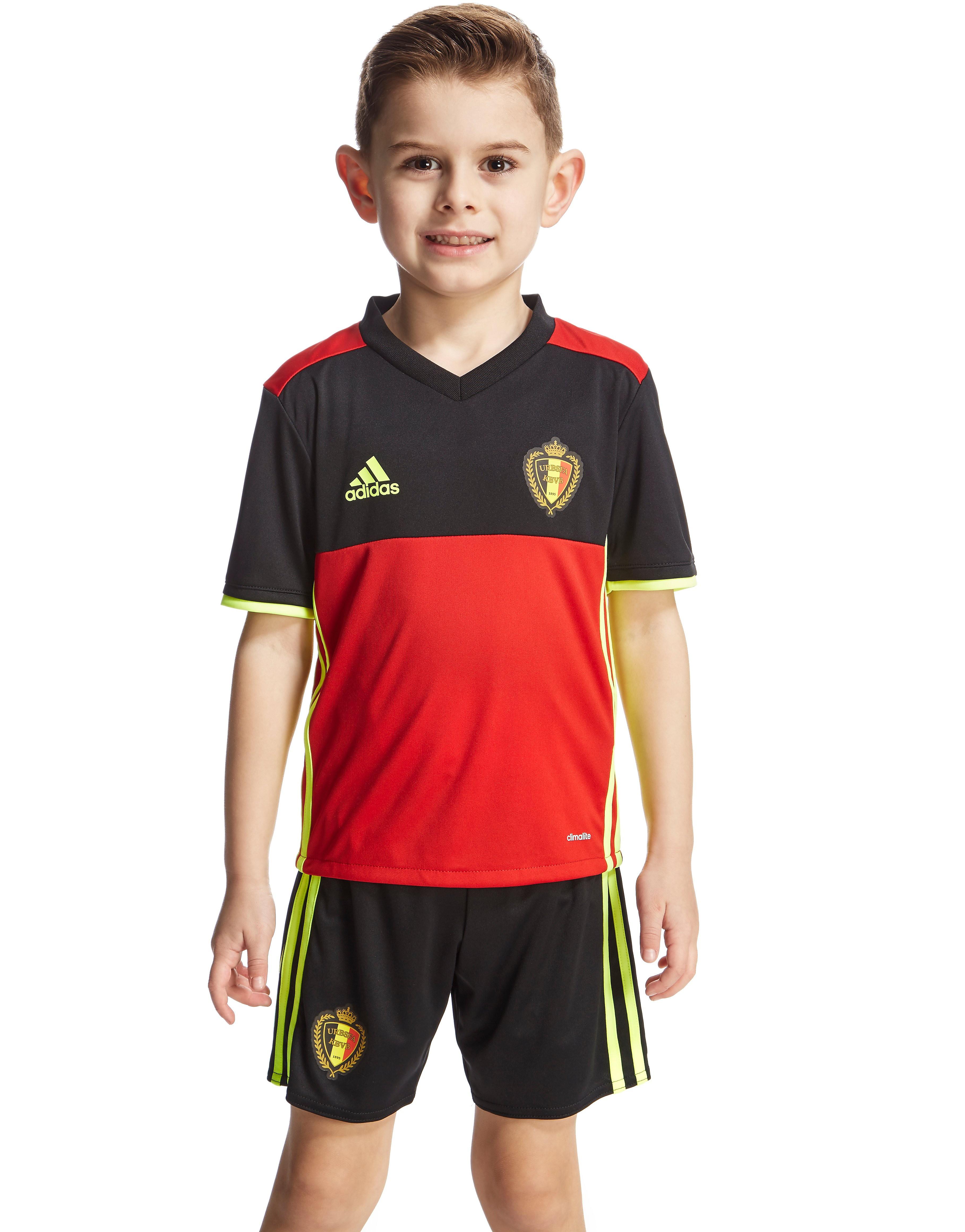 adidas Belgium 2016 Home Kit Children