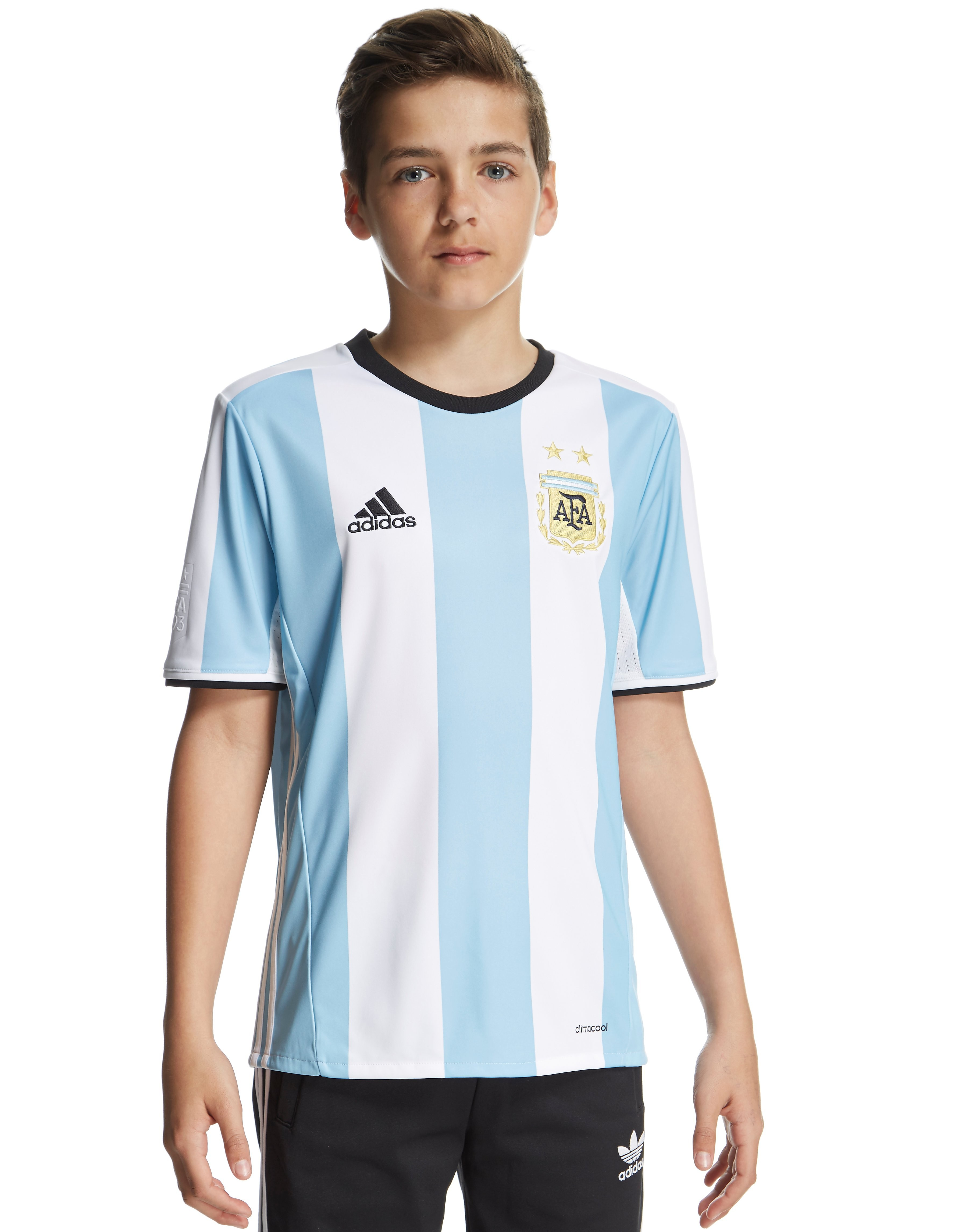 adidas Argentina 2016 Home Shirt Junior