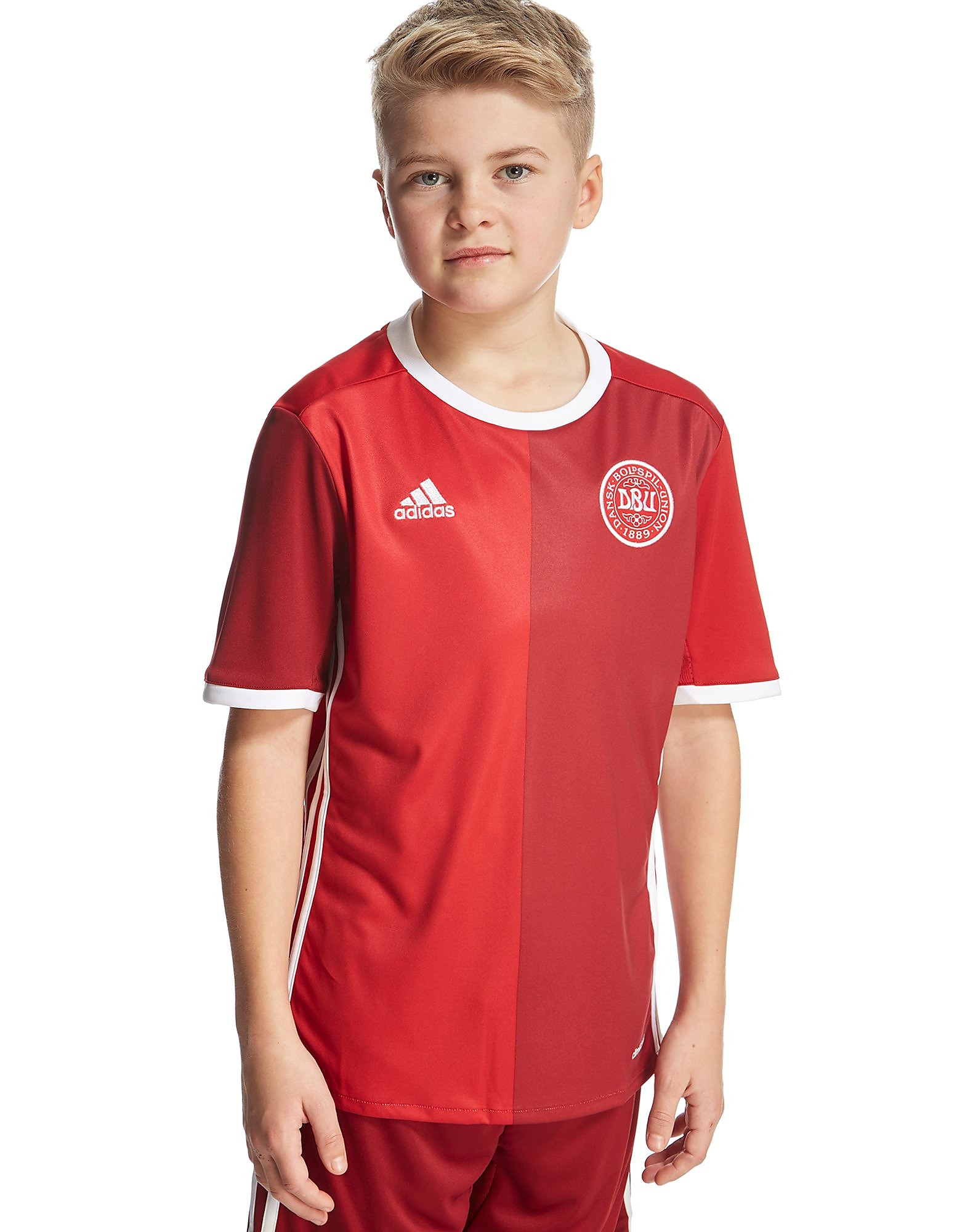 adidas Denmark 2016 Home Shirt Junior