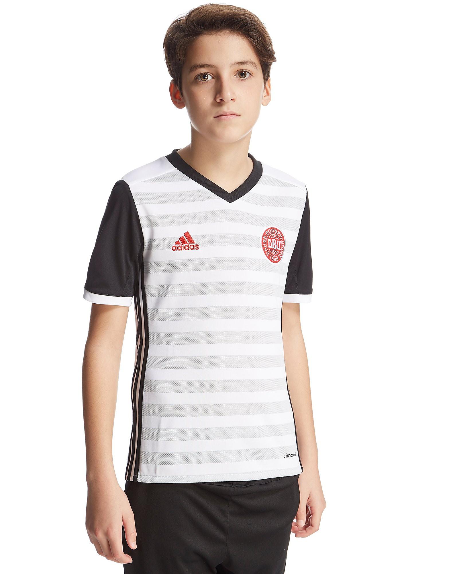 adidas Denmark 2016 Away Shirt Junior