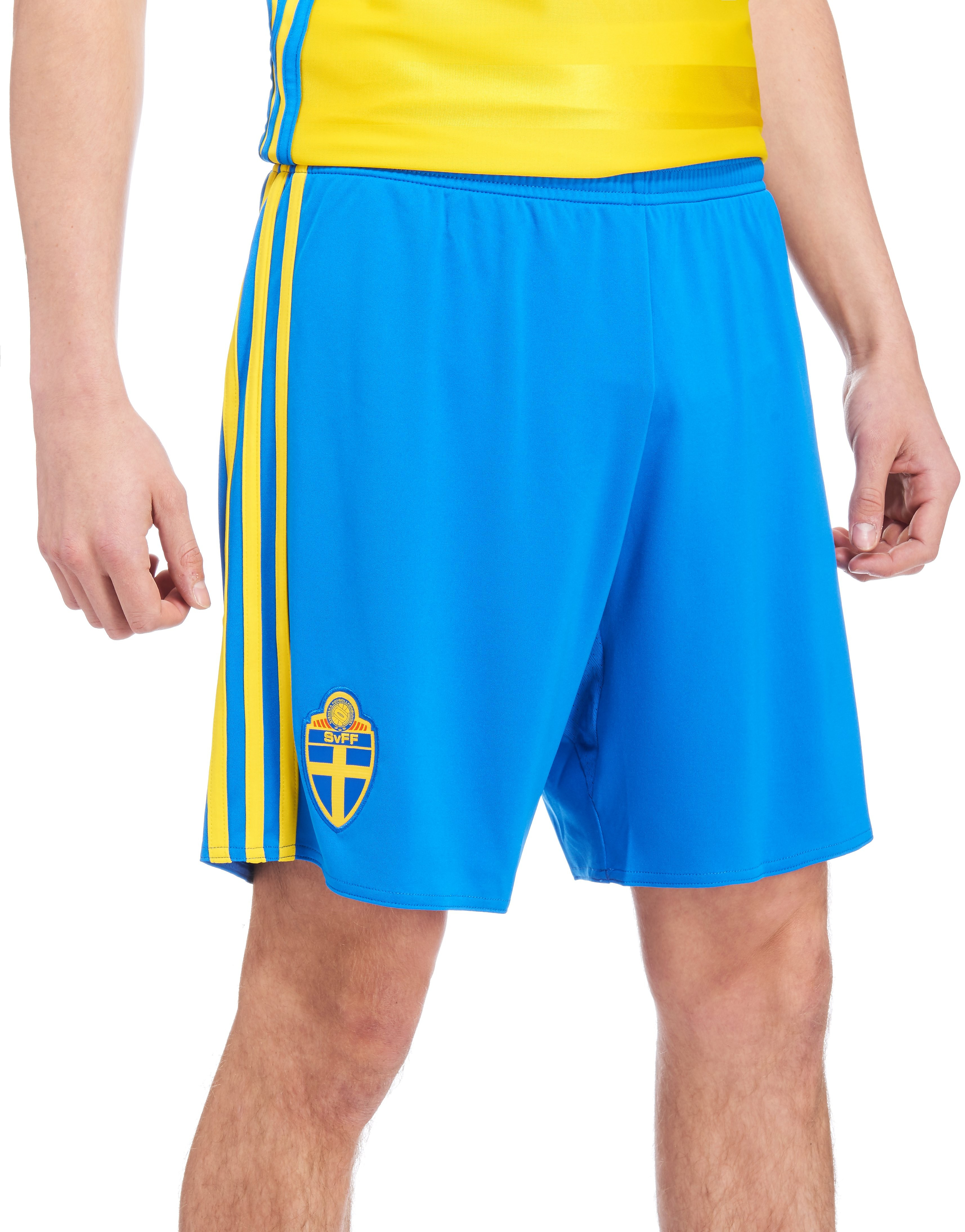 adidas Sweden 2016 Home Shorts