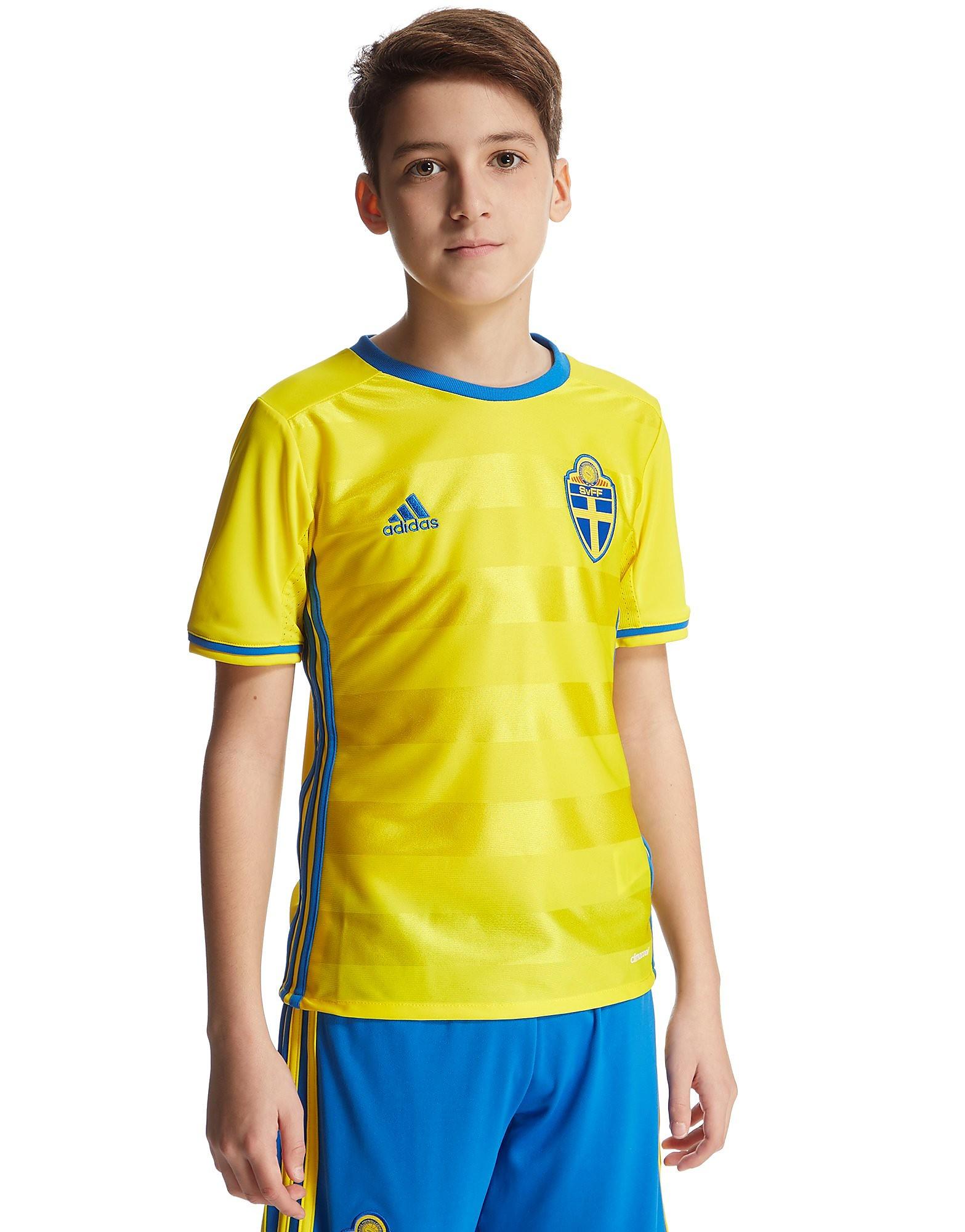 adidas Sweden 2016 Home Shirt Junior