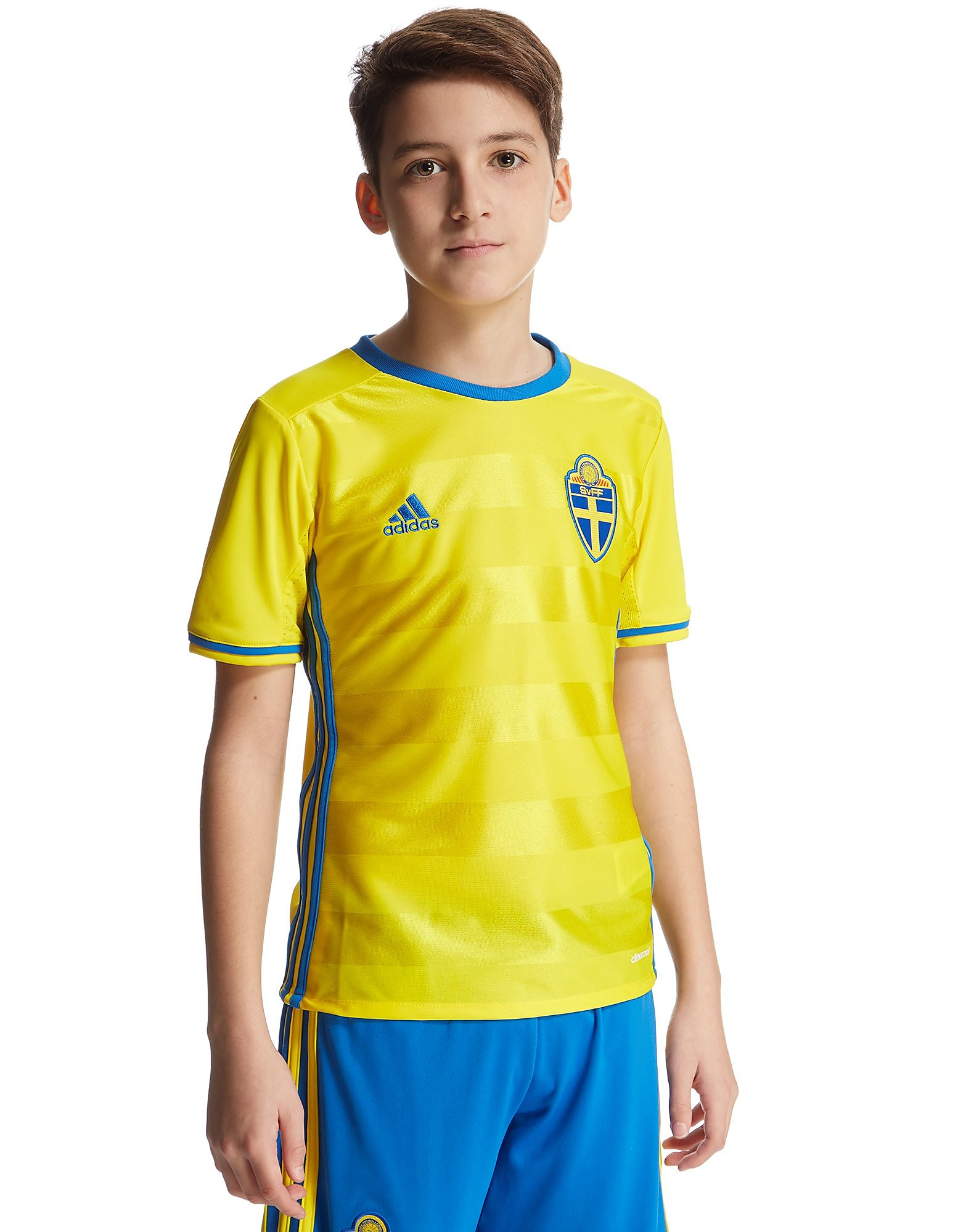 adidas Sweden 2016 Home Shirt Junior