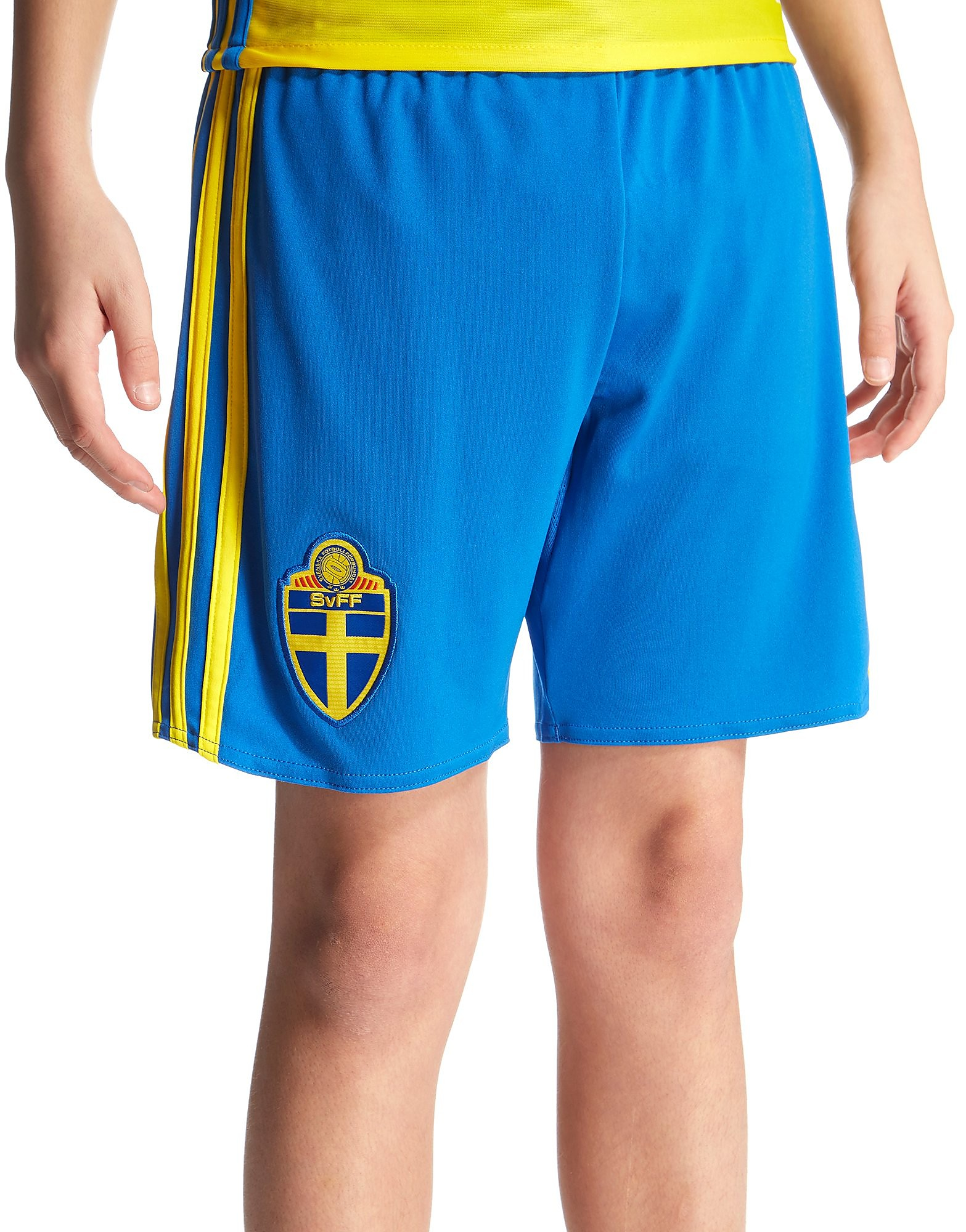 adidas Sweden 2016 Home Shorts Junior