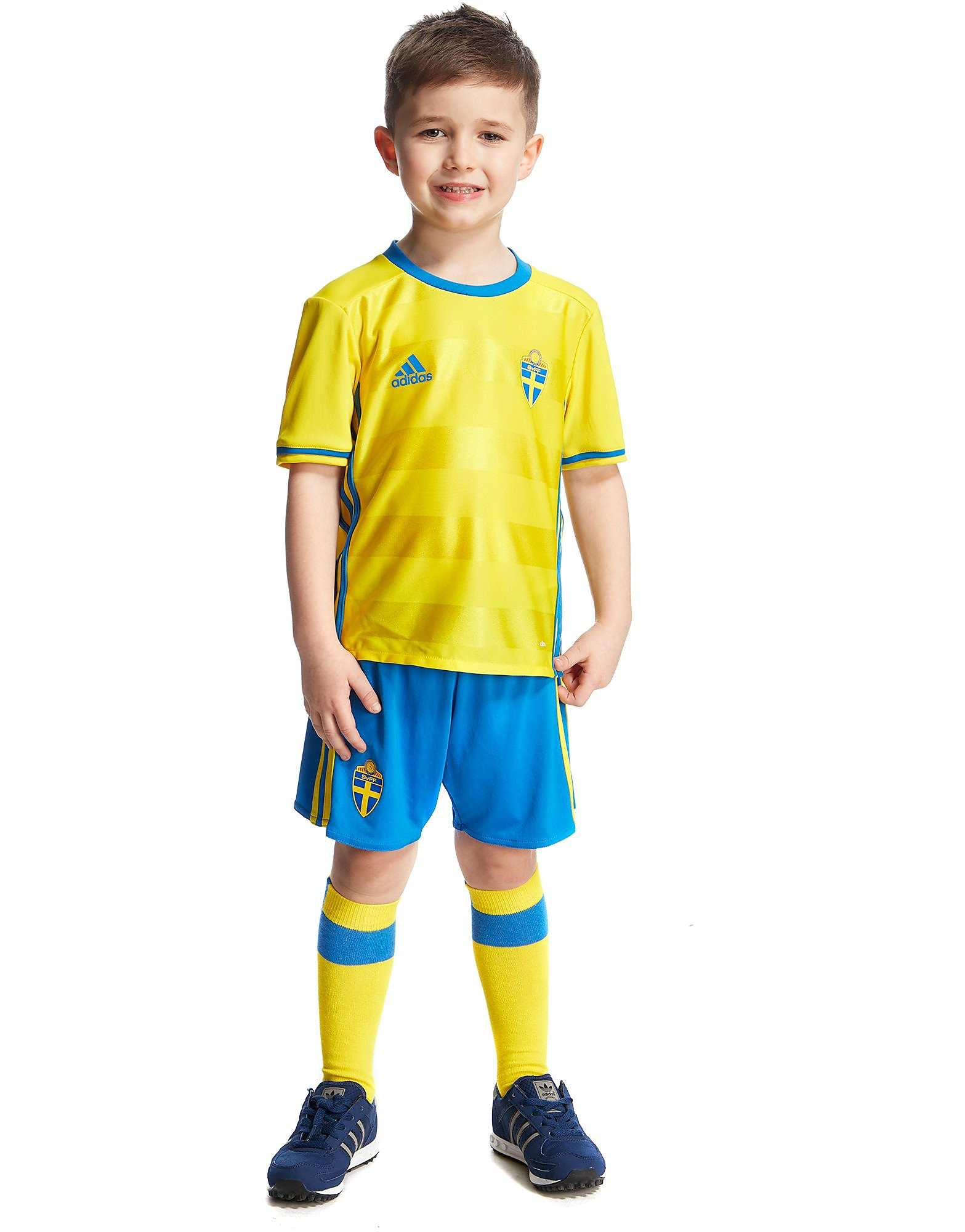 adidas Sweden Home 2016 Kit Children