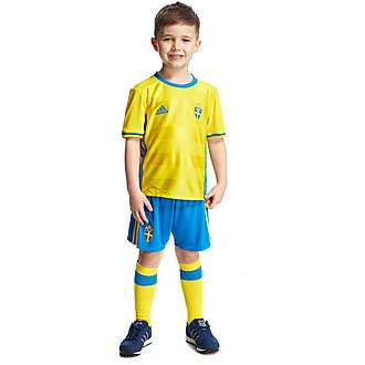 adidas Sweden Home 2016 Kit Children