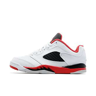 Jordan Air Retro V Low Children 'Fire Red'