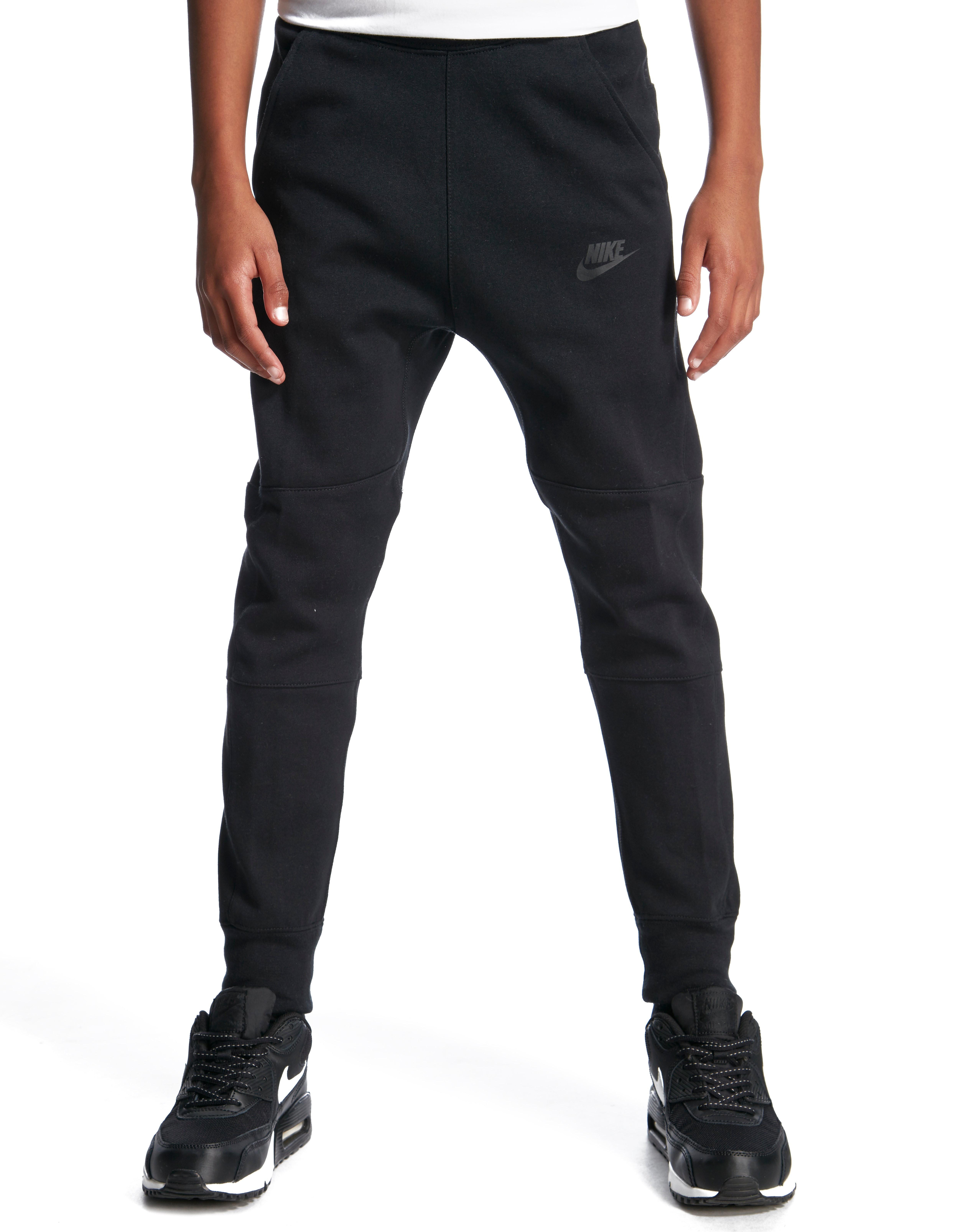 c60c96039ffd Nike Tech Fleece Pant Junior - Black - Kids - Sports King Store