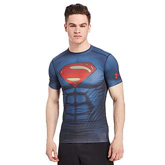 Under Armour Transform Yourself Superman Compression T-Shirt