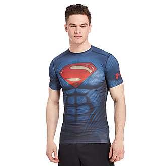 Under Armour Transform Yourself Superman Compression T-Shirt