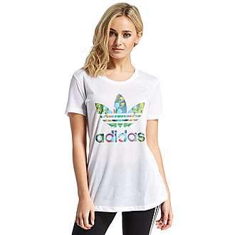 adidas Originals Trefoil Peacock Infill T-Shirt