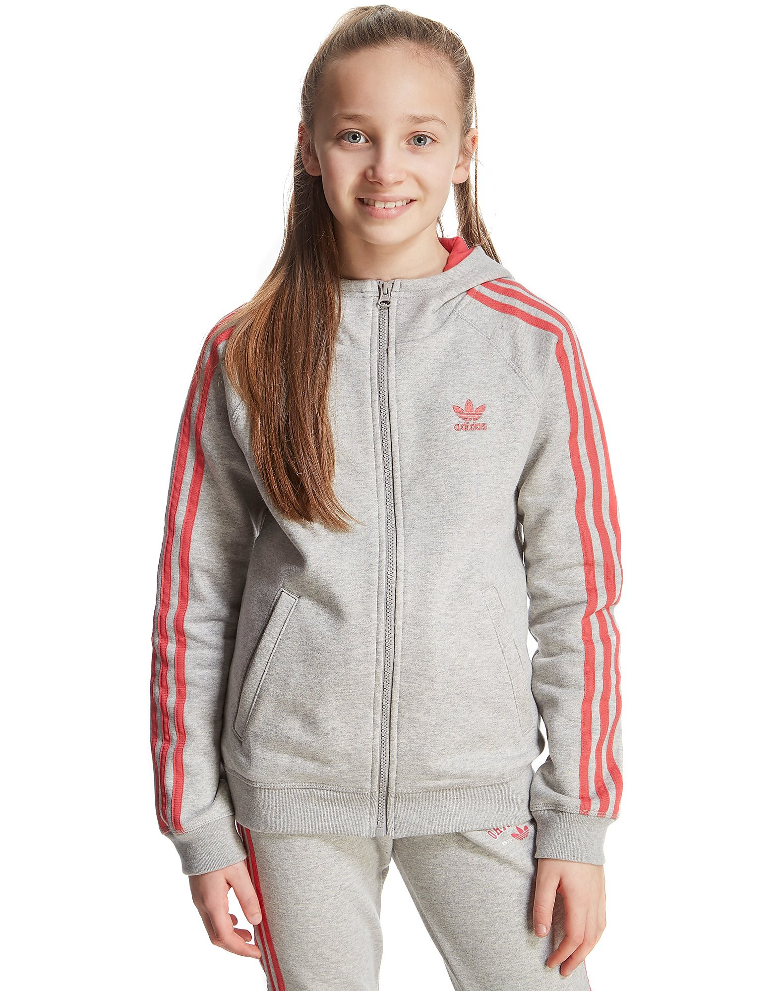 adidas Originals Girls' Super Full Zip Hoody Junior