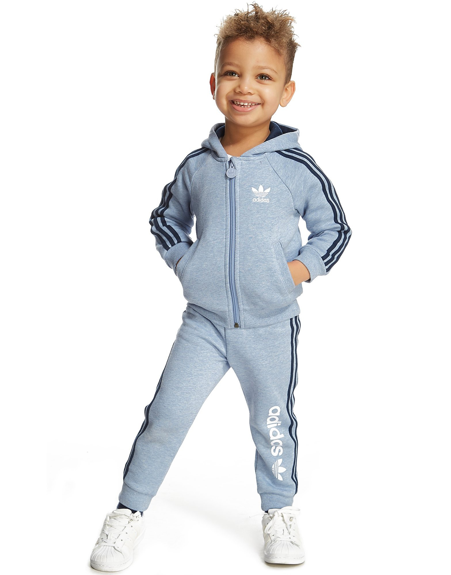 adidas Originals Linear Hooded Suit Infant