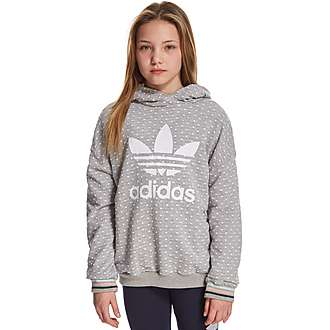 adidas Originals Girls' Polka Hoody Junior