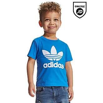 adidas Originals Trefoil Flock T-Shirt Infant