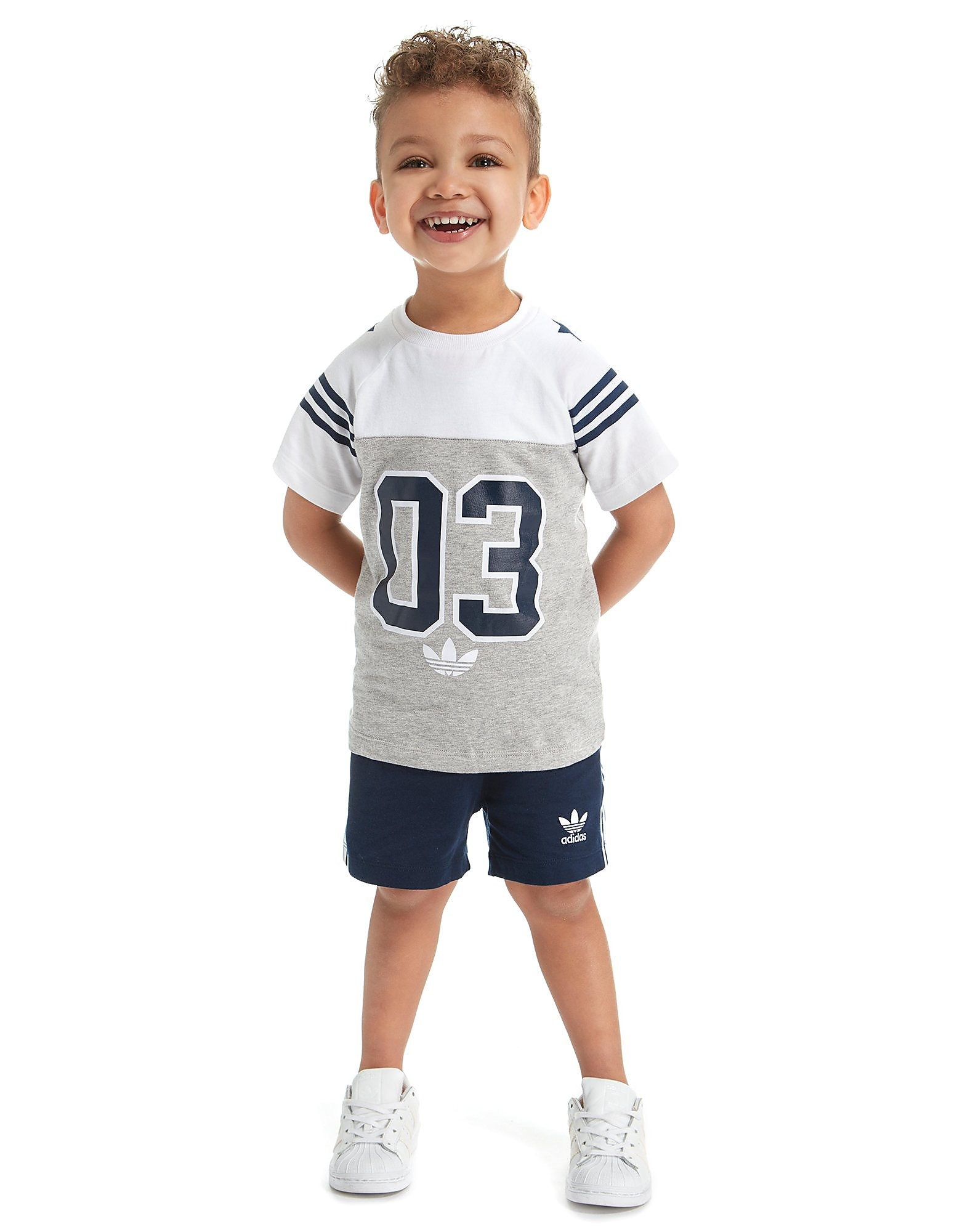 adidas Originals 03 T-Shirt And Short Set Infant