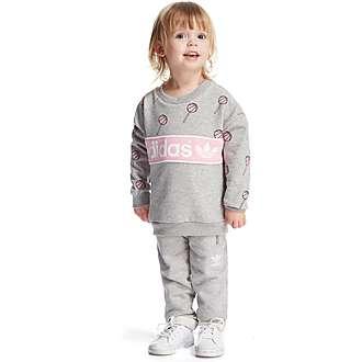 adidas Originals Girls' Crew Suit Infant