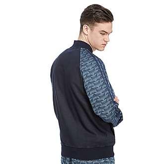 adidas Originals Fleece Denim Superstar Track Top