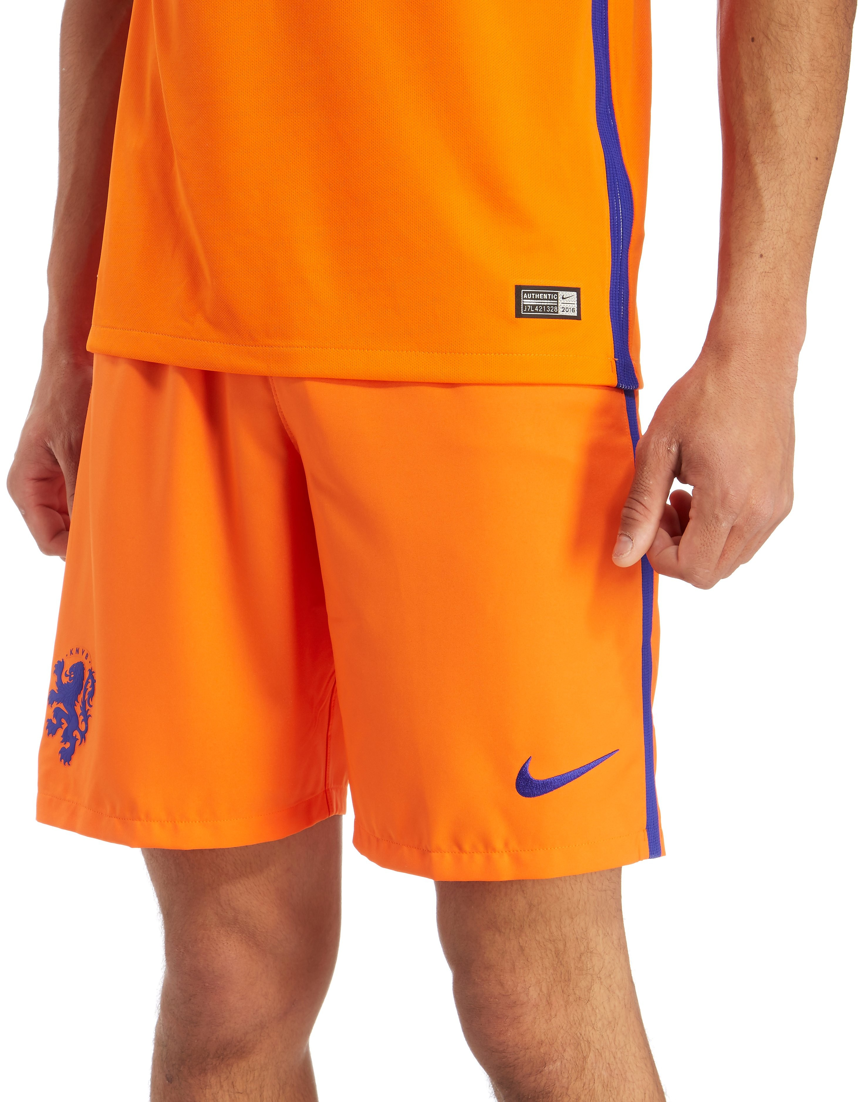 Nike Holland 2016 Home Shorts