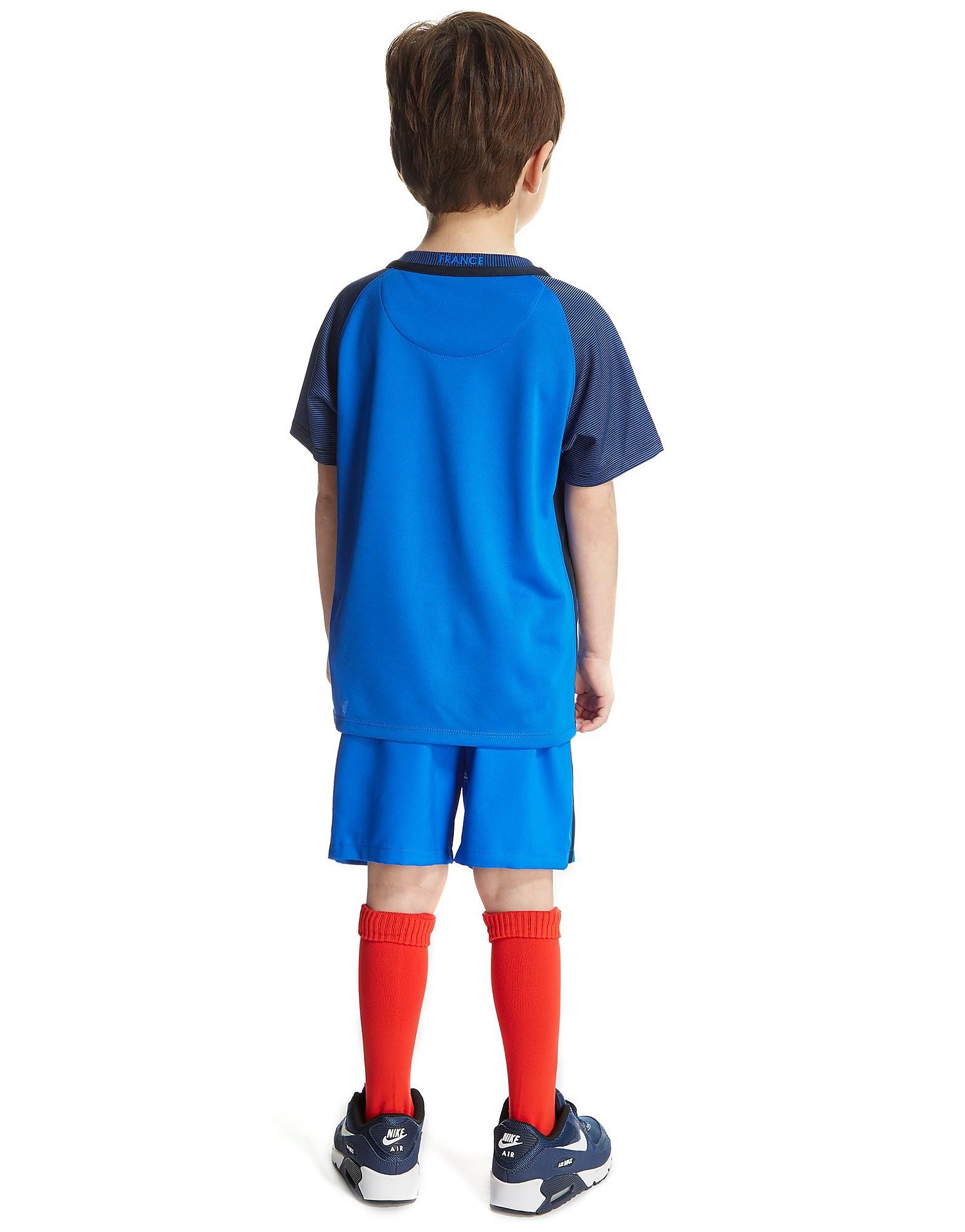 Nike France Home 2016 Kit Children