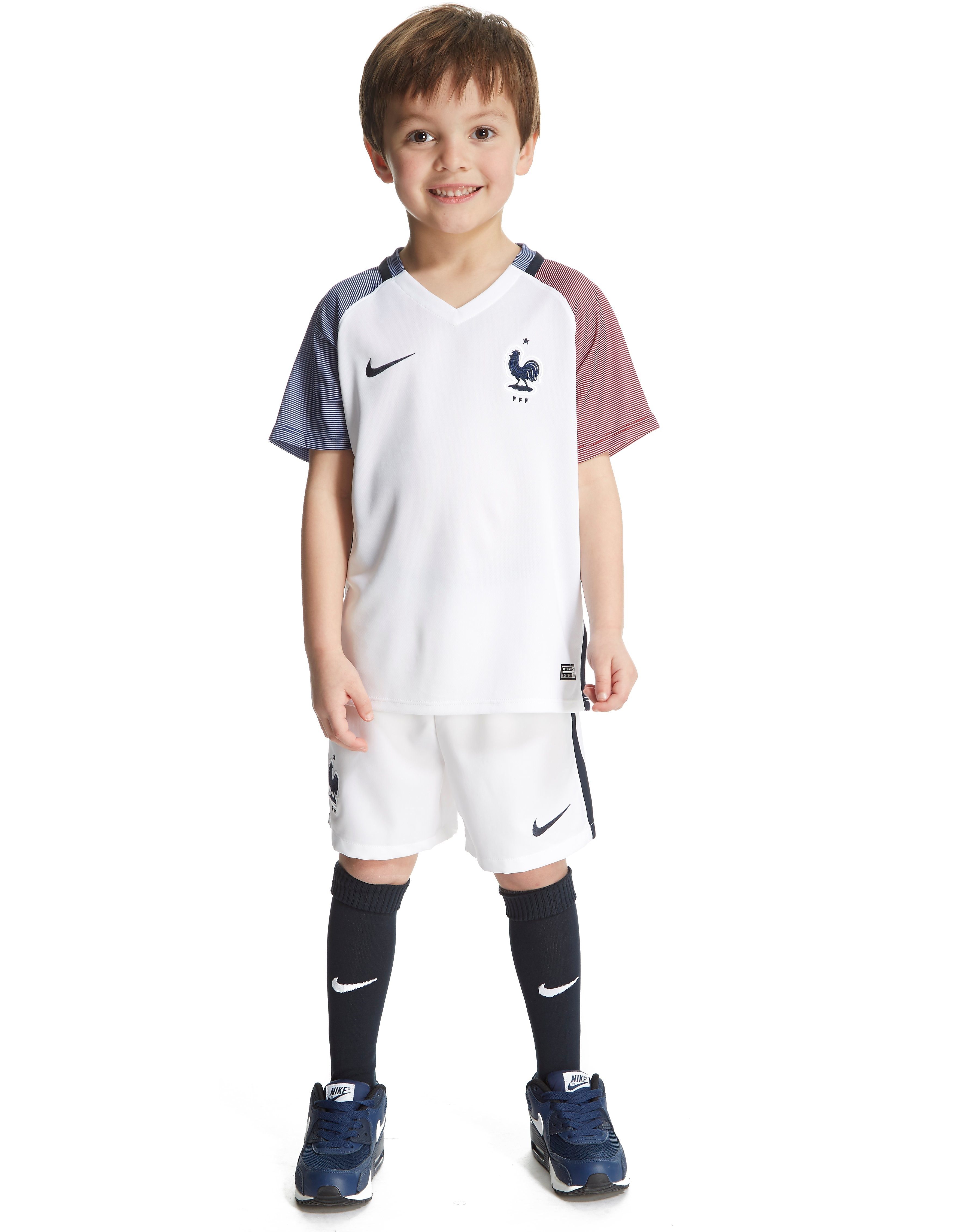 Nike France Away 2016 Kit Children