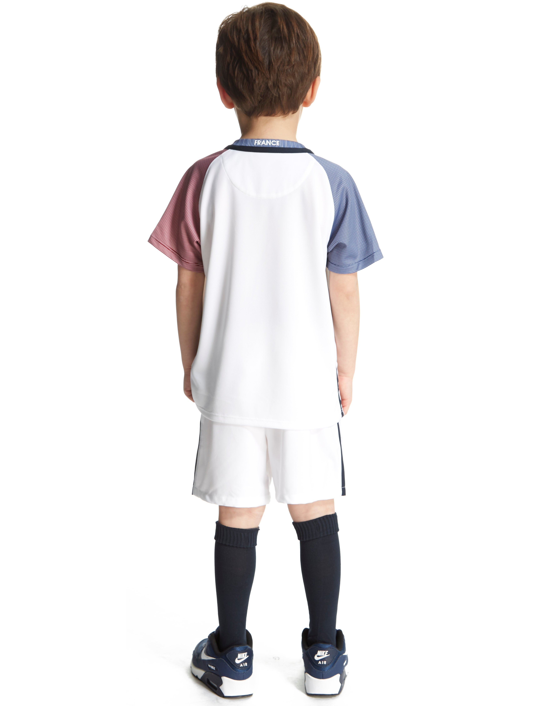 Nike France Away 2016 Kit Children