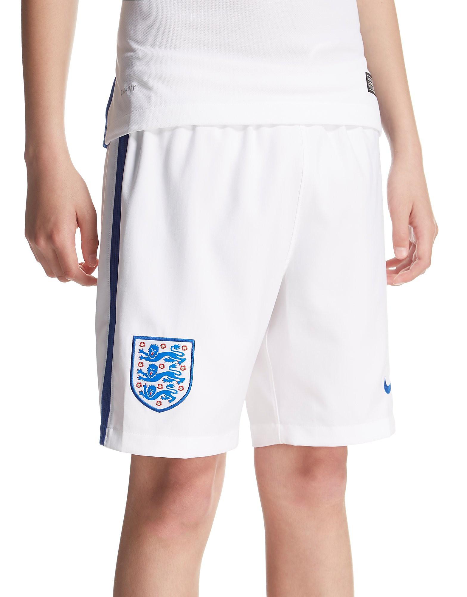 Nike England 2016 Heimshorts für Kinder
