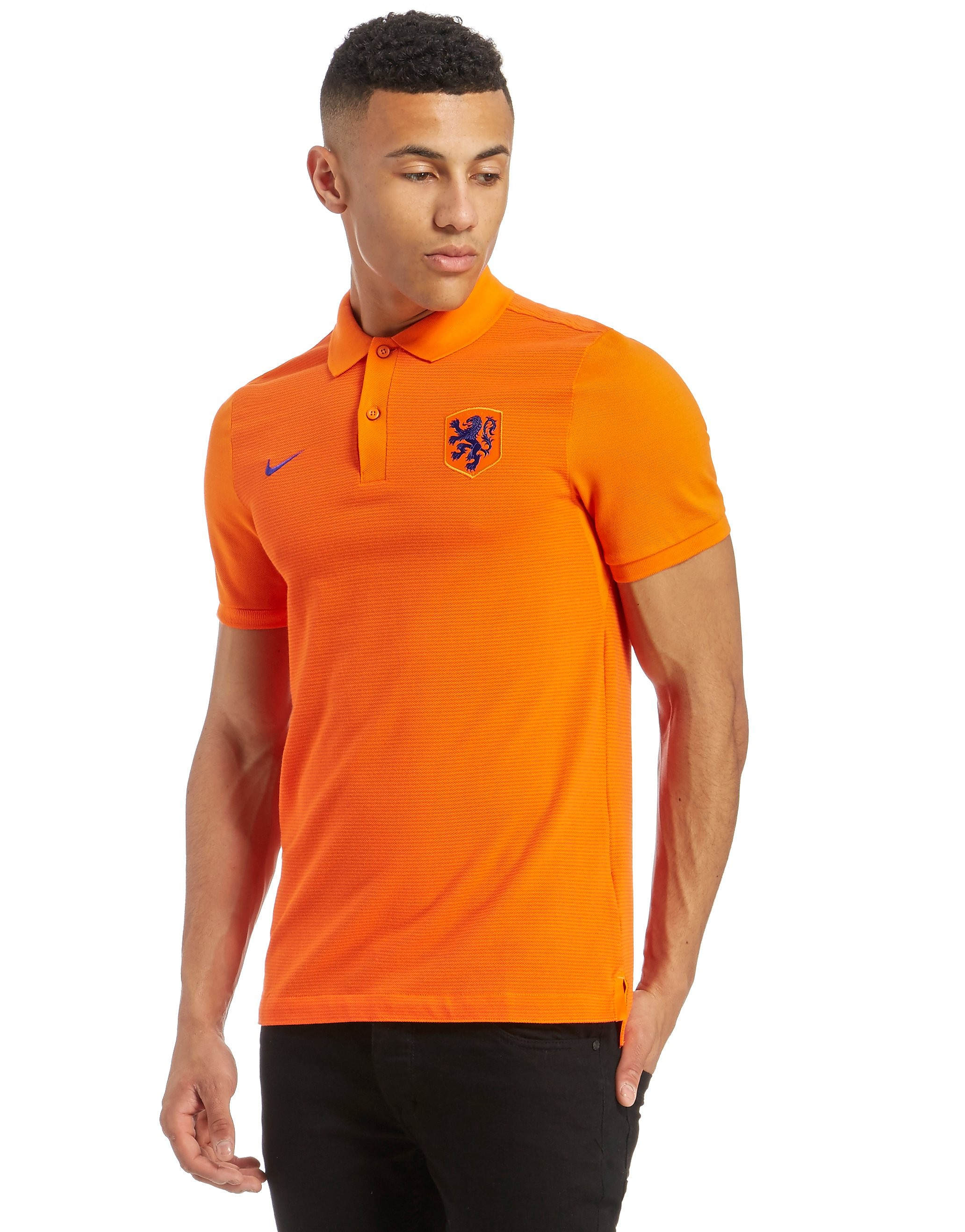 Nike Holland 2016 Authentic Polo Shirt