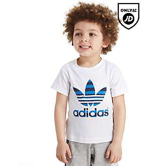adidas Originals Infil Striped T-Shirt Infant