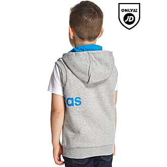 adidas Linear Sleeveless Hoody Children