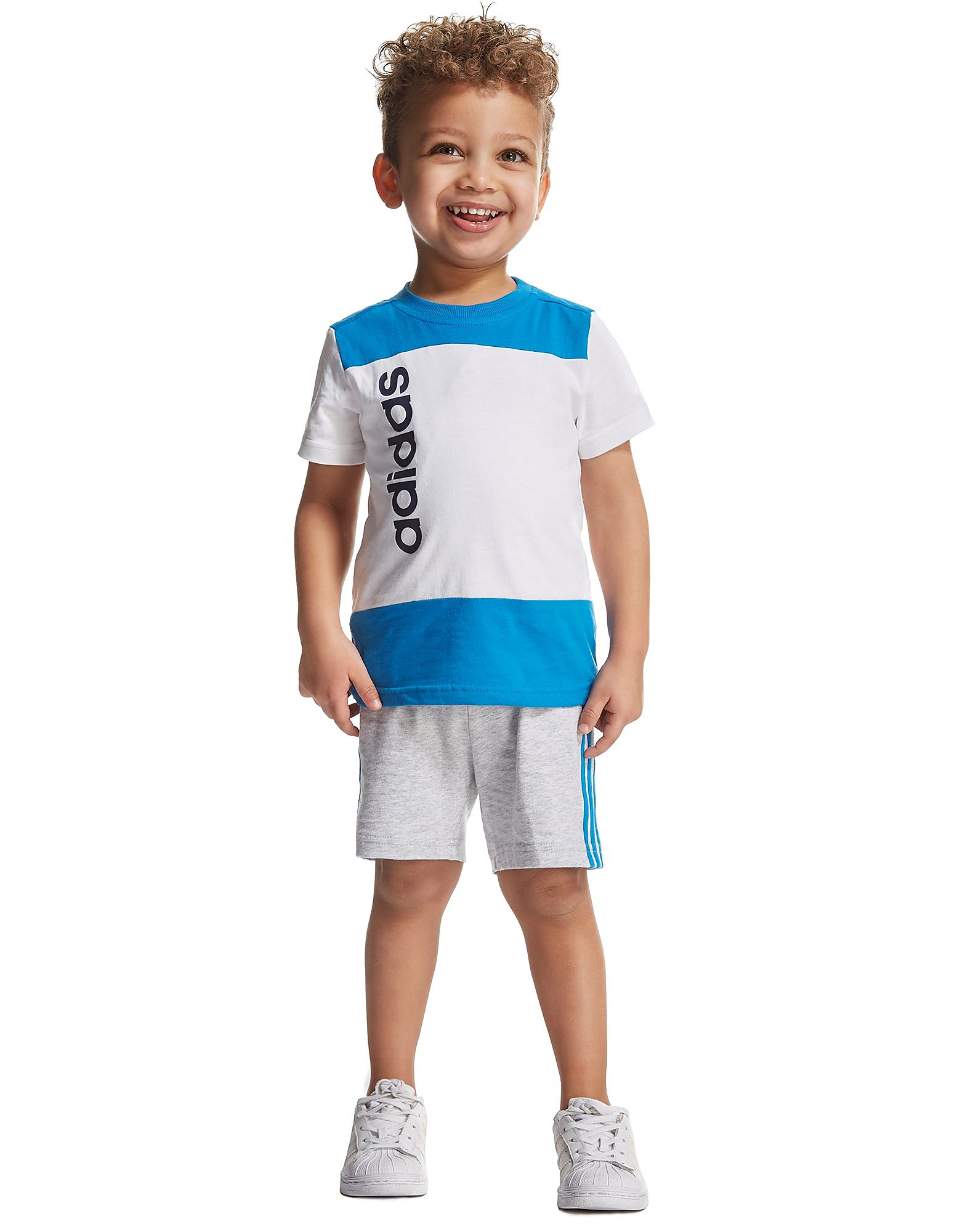 adidas Linear T-Shirt and Short Set Infant