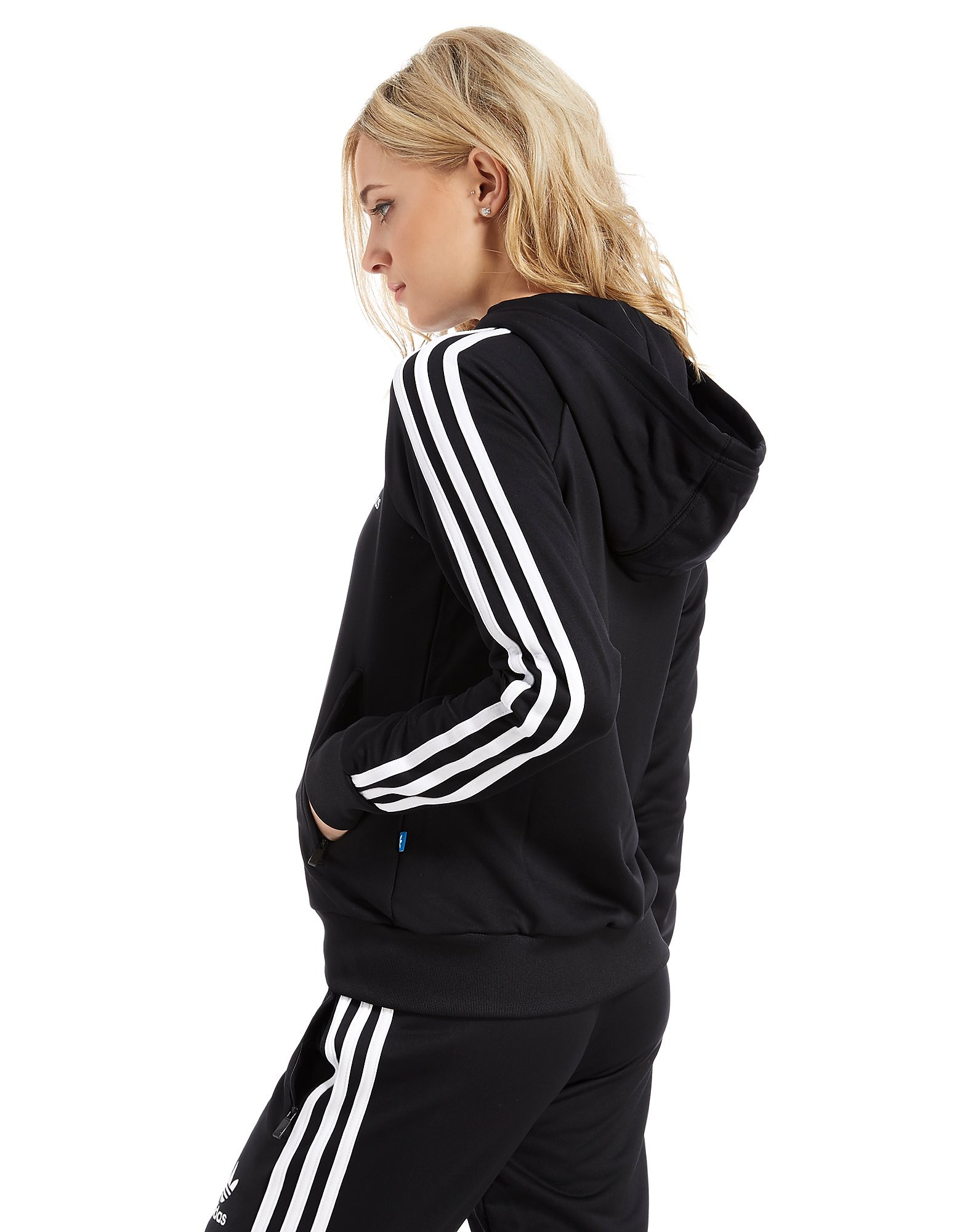 adidas Originals Poly Full Zip Hoodie