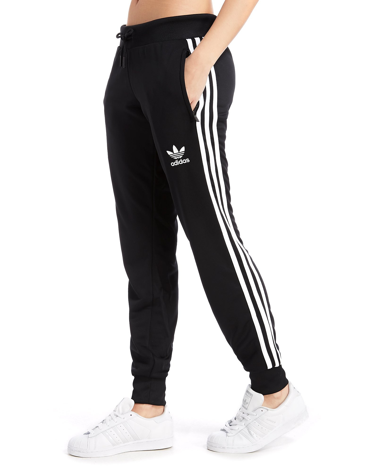 2a3d2915c56 Adidas Originals adidas Originals Poly 3-Stripes Joggingbroek - alleen bij  JD - Black/