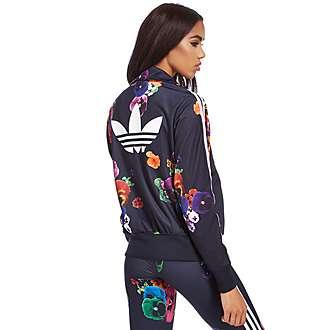 adidas Originals Floral Firebird Track Top