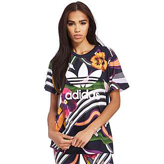 adidas Originals Floral Burst Boyfriend T-Shirt