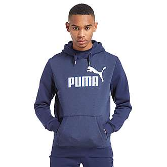 PUMA Mesh Logo Overhead Hoody