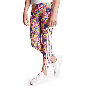 adidas Originals Girls Garden Leggings Junior
