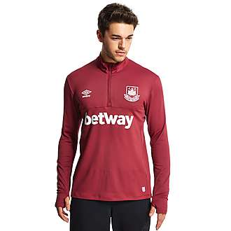 Umbro West Ham United 2015/16 Half Zip Training Top