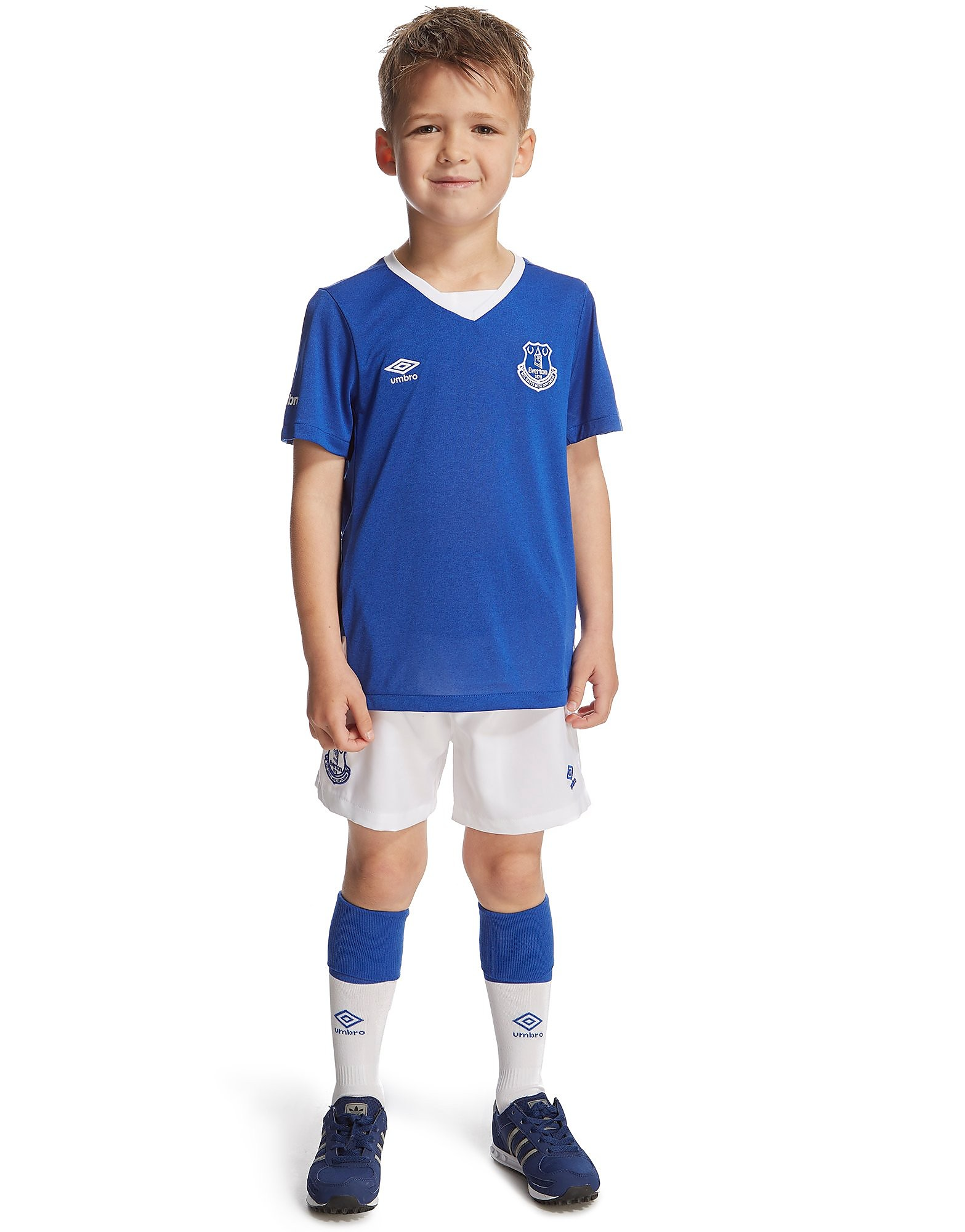 Umbro Everton 2015/16 Home Kit Children