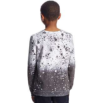 Hype Speckle Fade Crew Sweatshirt Junior